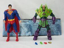 MOTUC,SUPERMAN & LEX LUTHOR,MOTU CLASSICS VS. DC UNIVERSE,Complete,He man,TRU
