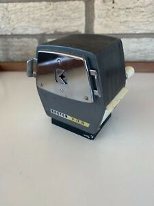 Vintage Boston 300 Unusual Gillot Hand Crank Style Pencil Sharpener