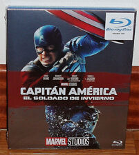 CAPTAIN AMERICA THE SOLDIER'S WINTER SLIPCOVER BLU-RAY NEW (UNOPENED) R2