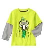 NWT Gymboree Ice All Star Badger Tee Shirt 12 18