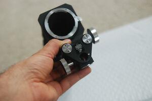 Nippon Kogaku F Camera macro bellows  Nikon Focusing attachment