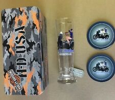 Harley-Davidson Military Pin-Up Pilsner Set Air Force Ava