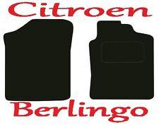 Citroen Berlingo Van DELUXE QUALITY Tailored mats 2002 2003 2004 2005 2006 2007