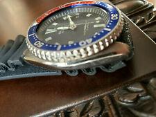 "SEIKO ""VTG PEPSI"" DATE DIAL AUTOMATIC 150m Red Blue Bezel Chronograph 7002-700J"