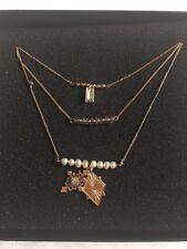 Jewelmint Necklace 3 Strand Necklace RP $99.99