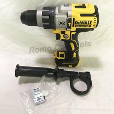 DeWalt 20V XR 1/2 in. Hammer Drill Brushless 3-Speed DCD996 (New From Kit)