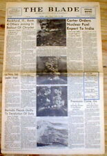 1980 newspaper wDramatic pictures MT ST HELENS Washington State VOLCANO EXPLODES