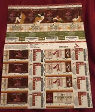 Psa 9 2011 World Series Ticket G4 Albert Pujols Texas Rangers St Louis Cardinals