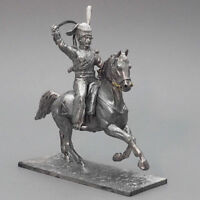 Tin soldier, Ober-officer of Cossack regiment, Napoleonic Wars, 54 mm