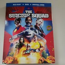 New ListingThe Suicide Squad(Blu-Ray+Dvd)W/Slipc over No Digital Code Included
