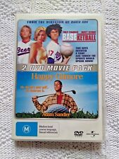 BASEKETBALL / HAPPY GILMORE –2 DVD, REGION-4, LIKE NEW, FREE POST IN AUSTRALIA