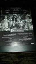 Restoration Robert Downey Jr Meg Ryan Academy Awards Promo Poster Ad Framed! #2