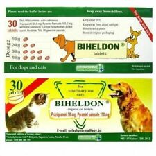 30 Tabs Dog and Cat Puppy Wormer Broad Spectrum Dewormer Woming Seller From Usa