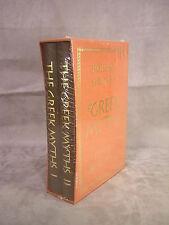 Folio Society ~ THE GREEK MYTHS ~ Book 1 & 2 in Slip Case