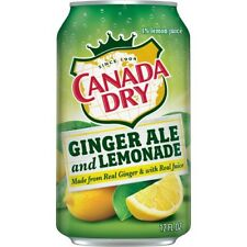 Canada Dry Ginger Ale & Lemonade 12oz 355ml (Pack of 24)