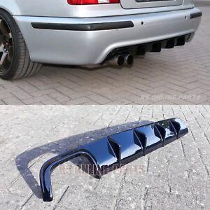 Diffusor Heckdiffusor Spoiler Hochglanz ABS passend für BMW 5er E39 mit M Paket