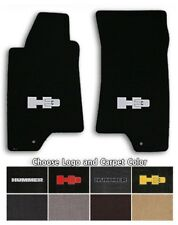 Hummer H3 2pc Classic Loop Carpet Floor Mats - Choose Color & Logo