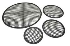More details for black metal mesh speaker grill |metal iron wire grilles |size 18