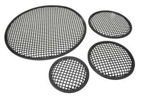 "Black Metal Mesh Speaker Grill |Metal iron wire grilles |Size 18"" 15"" 12"" 10"" 6"""