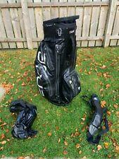 Big Max Golf I-Dry Aqua Sport Fully Waterproof Golf Cart Bag - Black