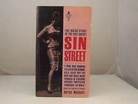 Sin Street (aka Scarlet Patrol)  by Dorine Manners Sleaze GGA Vintage Paperback