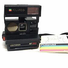 Polaroid Lightmixer Af 660 Instant Print 600 Film Camera Guaranteed WorkingOffer