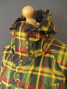 BNWOTS BAPE x ISETAN SNOWBOARD JACKET COAT (XL) TARTAN A BATHING APE SKIWEAR