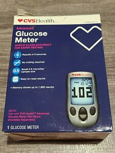 CVS Health Advanced Glucose Meter World Class Accuracy BX-M2