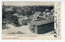 LOWER VILLAGE OF NORTH ANDOVER: Massachusetts USA postcard (C17294)