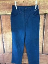 Roper -Western Vintage- women Jeans size 11/12x29 Blue denim No Back Pockets