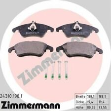 Zimmermann Brake Pad Set, disc brake 24310.190.1
