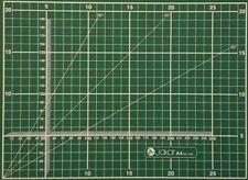 A4 Artesanía de corte colchoneta autorreparación Nueva Junta de doble cara líneas de cuadrícula Antideslizante