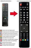 Ersatz Fernbedienung für Samsung AK59-00179A für die UBD-K8500