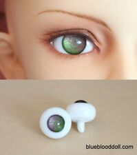 14mm bjd glass doll eyes two shades colors dollfie iplehouse luts #CH-09 ship US