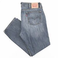 Vintage LEVI'S 514 Regular Straight Fit Mens Blue Jeans W38 L30