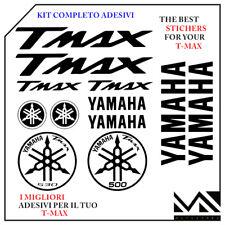 Kit 12 pezzi Serie di Adesivi Yamaha Tmax T- Max 500 - 530 colore Blu