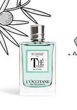L`Occitane en Provence THÉ VERT Green Tea Eau de Toilette for women 75 ml 2.5 oz