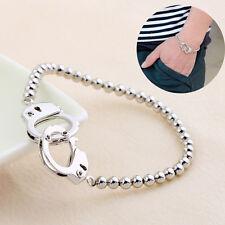 Menottes Bracelet Bijoux pour Cop Police Prison Accessoire Robe Fantaisie