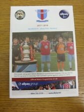 14/10/2017 Westfields v Boldmere St Michaels  . Thank you for viewing this item