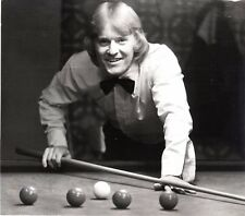 Original Press Photo Sheffield Wednesday Plymouth Newport playing snooker (1)