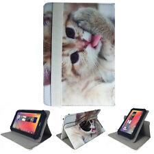 Tablet Tasche für SAMSUNG Galaxy Tab S3 Hülle Etui Katze 2 9,7 Zoll 360