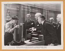 """SHOULD HUSBANDS WORK"" (1939) MOVIE PRESS PHOTO *Divorce Lawyers *LAW OFFICE ART"
