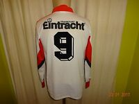 "Eintracht Frankfurt Puma Langarm Trikot 1991/92 ""SAMSUNG"" + Nr.9 Gr.S TOP"