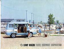"""Vintage Camper Sales Flyer: TEC """"CAMP WAGON"""""""