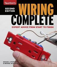 """Taunton's """"WIRING COMPLETE"""" Book ~ STF Advice ~ Lighting ~ Fans ~ Switches ~ NEW"""