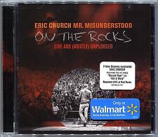 ERIC CHURCH Mr Misunderstood ON THE ROCKS Live and Mostly Unplugged NEW CD!!
