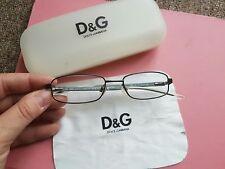 DOLCE & GABBANA D&G  Designer  Frame Glasses  With Case