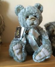 CHARLIE BEARS JIVE 19 INCH MOHAIR JOINTED BEAR L/E 400 RETIRED BNWT/BAG
