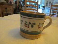 Nicholas Mosse Irish Pottery Spongeware Strawberry Mug.