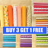 7Pcs Quilting Bundle Patchwork Cotton Fabric Handmade DIY Sewing Crafts Floral